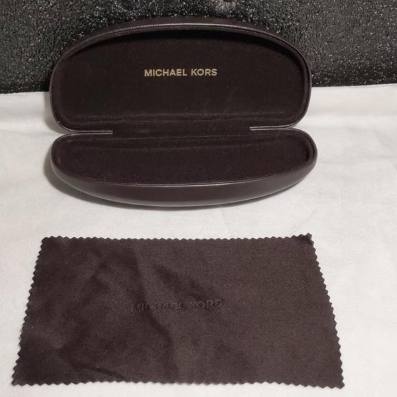 Michael kors glasses case and microfiber cloth